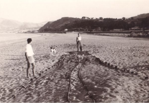 """Il Cicero"" Resort, our beach in  1960"