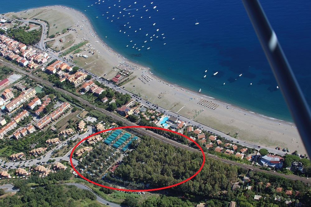 Camping Cicero Vista Aerea